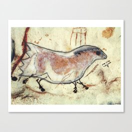 """""""Ghost Horse"""" Canvas Print"""