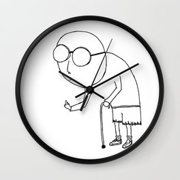 Angry & Old Wall Clock