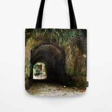 Old tunnel 2 Tote Bag