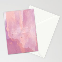 Come To Me | Pink Watercolor Reverse (for Lyndsie Brooker) Stationery Cards