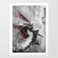 thor Art Prints featuring Thor by Wisesnail