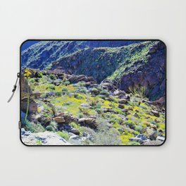 Desert Spring Greens by Reay of Light Laptop Sleeve