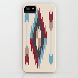 American Native Pattern No. 12 iPhone Case