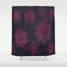 Magenta Shower Curtain