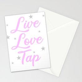 Tap Dancer Live Love Tap Dancing Ballet Tap Shoes Stationery Cards