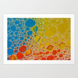 Bubbling Up Art Print