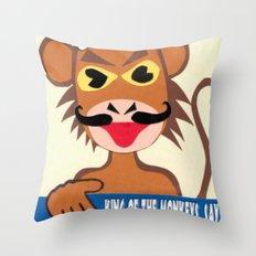 Monkey king says No! Throw Pillow