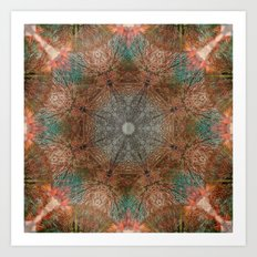 Autumn Circle Art Print