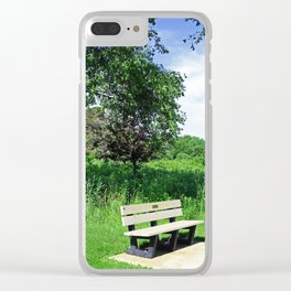 Introspective Analysis Clear iPhone Case