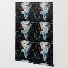 La dame blanche Wallpaper