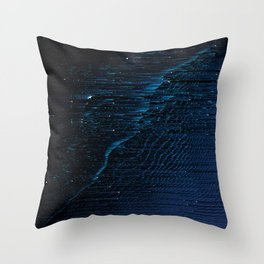 Cygnus Loop Nebula 2 Throw Pillow