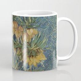 Crown Imperials in a Copper Vase Coffee Mug