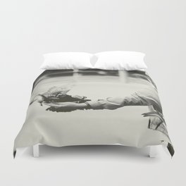 Caring Hand Duvet Cover