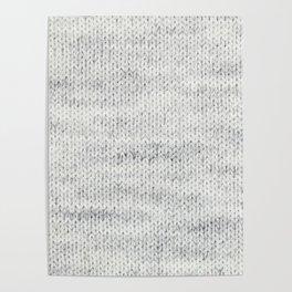 Gray Wool Poster