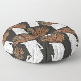 Autumn Still Life with Pampas Grass Floor Pillow