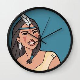 Pocahontas Mononoke Wall Clock