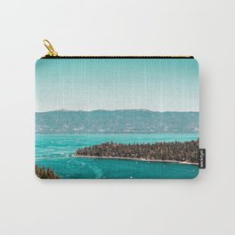 Even in the summer this lake looks like a frozen glass. Carry-All Pouch