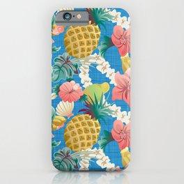 Pineapple Half Drop iPhone Case