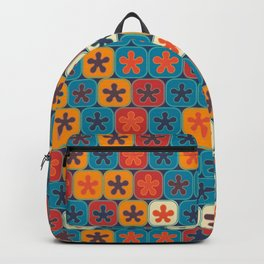 Blobs and tiles Backpack
