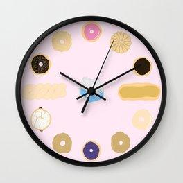 Liz Lemon's Donut Order Wall Clock