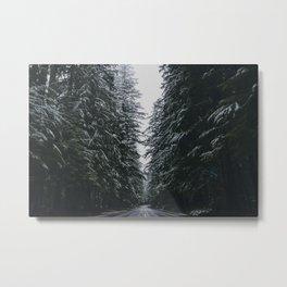 Where the Pine's Extend, Pt. 2 Metal Print