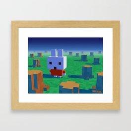 The lost rainforest Framed Art Print