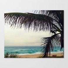 Sea and Palm  Canvas Print