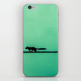 Squirrel on High iPhone Skin