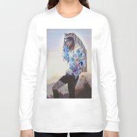 wanderlust Long Sleeve T-shirts featuring Wanderlust by Jenessa Peterson