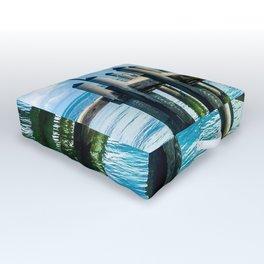 Summer Dock Hangs Outdoor Floor Cushion