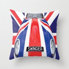 Swinger Throw Pillow