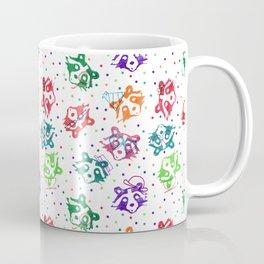 Party Raccoon Coffee Mug