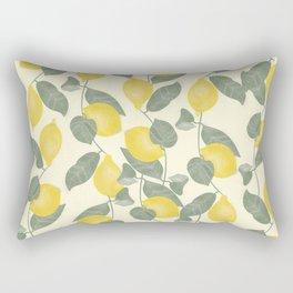 Citrus Pattern Rectangular Pillow