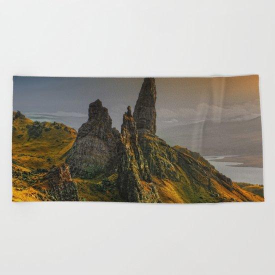 Rock II Beach Towel
