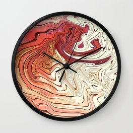 Post Facts World Wall Clock