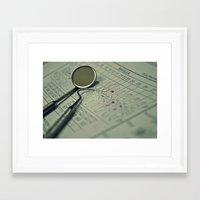 dentist Framed Art Prints featuring A DENTIST by Ruby_Dag
