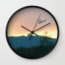 Wallows Fire... Wall Clock