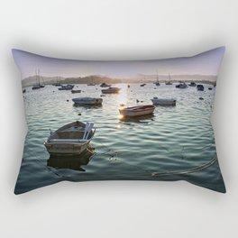 Sunrise in Baiona Galicia Rectangular Pillow