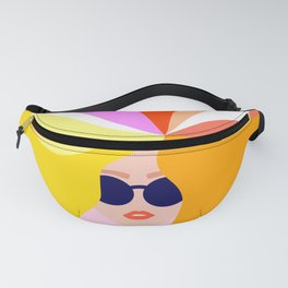 Rainbow Girl Power Fanny Pack