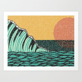 Sunrise V Art Print