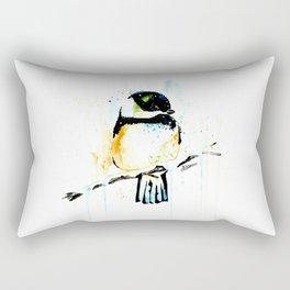 Chickadee - Winter friend Rectangular Pillow