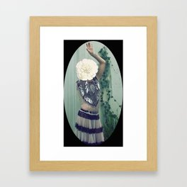 Inflorescencias 3 Framed Art Print