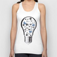 gravity Tank Tops featuring GRAVITY by Jerzy Jachym