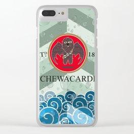 Chewacardi Clear iPhone Case