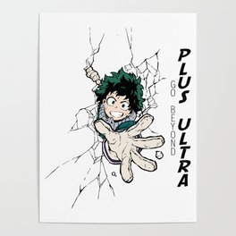 Go Beyond! Plus Ultra! Poster