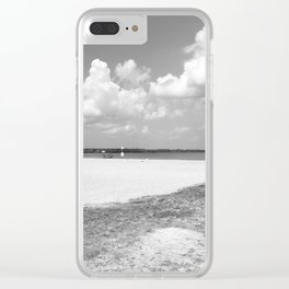 La plage – The Beach Clear iPhone Case
