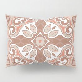Edwardian Geo Rust Pillow Sham