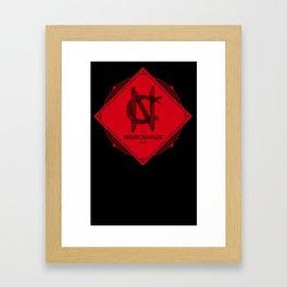 new logo Framed Art Print