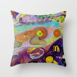 Ciganarija Throw Pillow