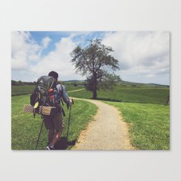 Through Farmlands •Appalachian Trail Canvas Print